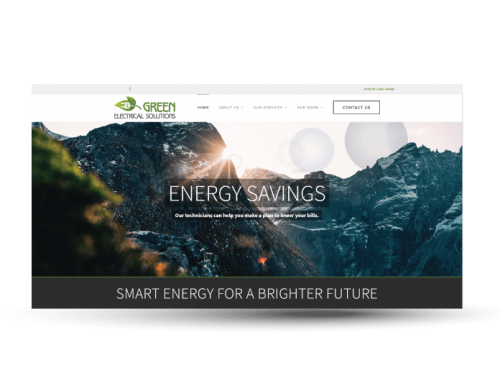 Green Electrical Solutions | Website Design
