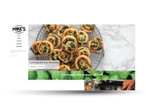 Mike's Italian Kitchen | Website Design