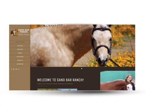Sandbar Ranch | Website Design
