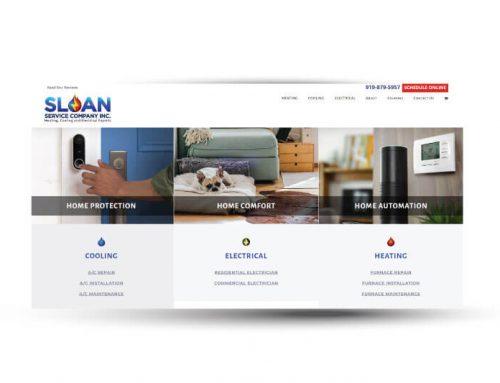 Sloan Service Company | Website Design